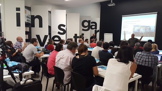 O Prof. Rui Agostinho, Diretor do Observatório Astronómico de Lisboa, explica os objetivos e mais valias do projeto CanSat