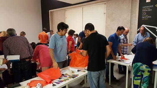 Atelier de fabrico de paraquedas