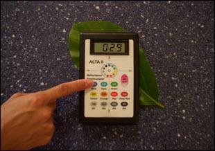 Espectrometro de reflectancia