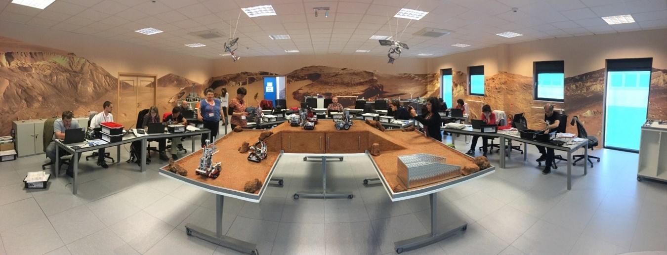 Formações da ESA em robótica e automação