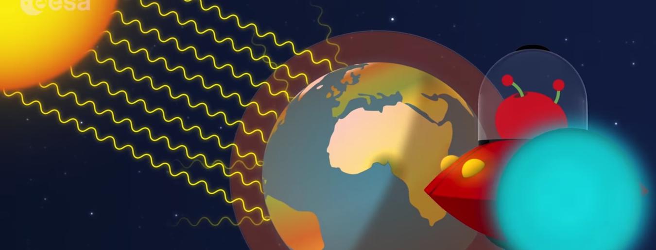 Novo vídeo do Paxi sobre o efeito de estufa