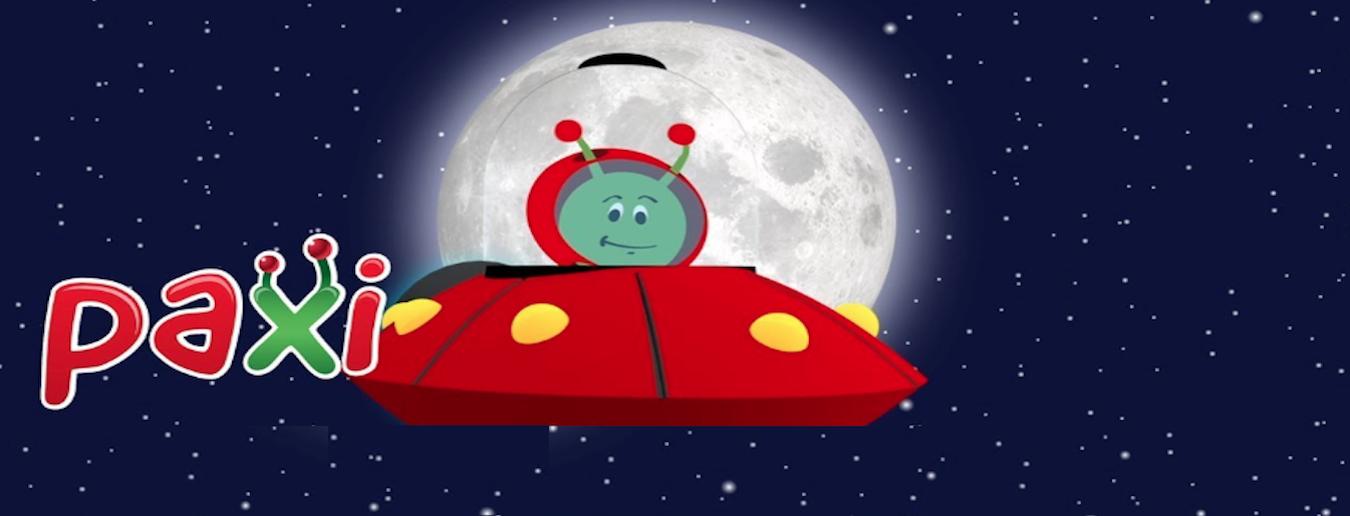 Novo vídeo: Paxi explora a Lua!
