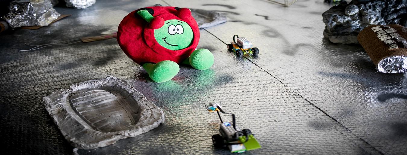 Ação de curta duração: Robôs na Lua - Inscrições encerradas