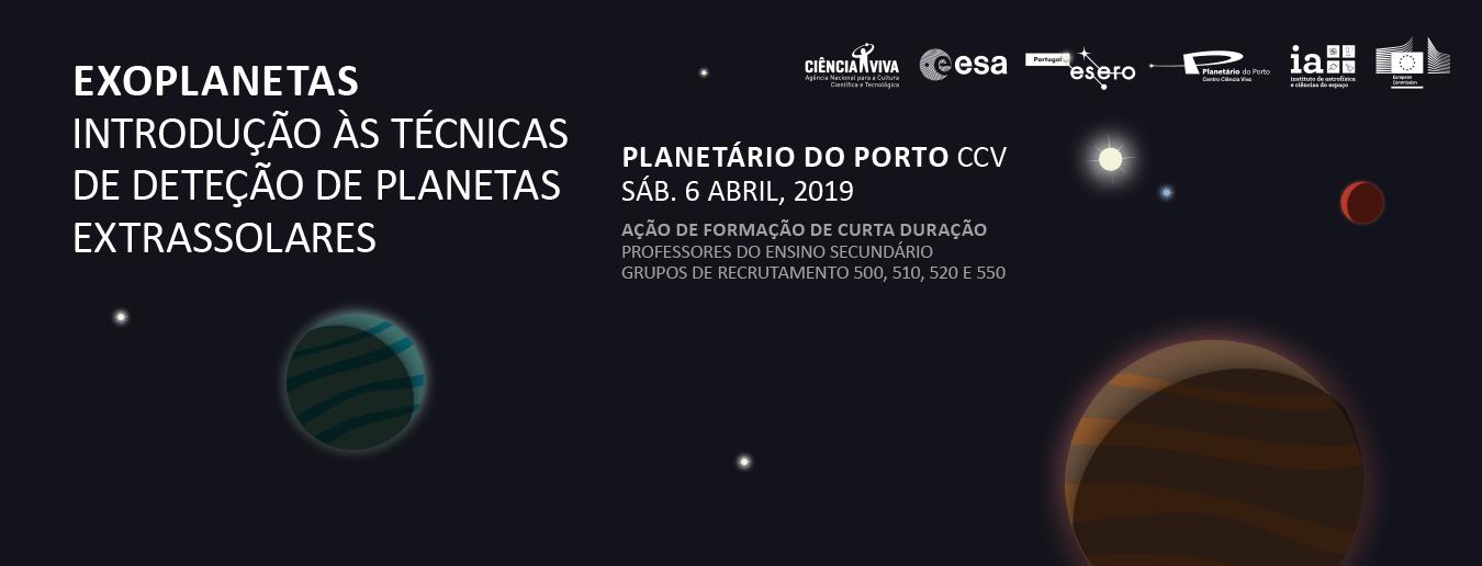 Ação de curta duração sobre Exoplanetas no Porto