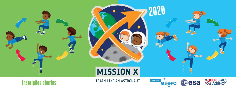 Missão X - Treina como um Astronauta