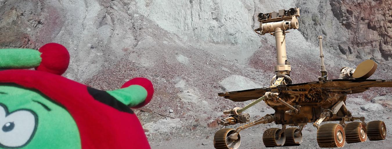 Ação: Robots em Marte - Inscrições encerradas