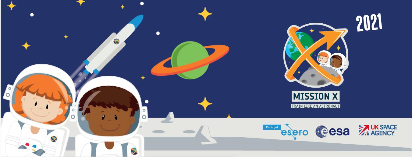 Missão X 2021 - Treina como um Astronauta