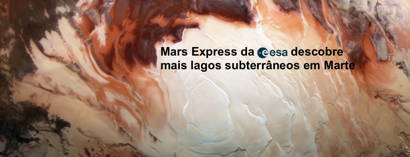 Notícias ESERO PT: (Mais) Água em Marte