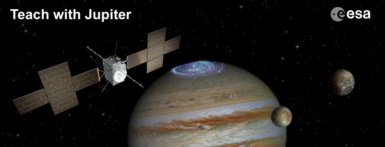 Nova página de recursos da ESA sobre Júpiter