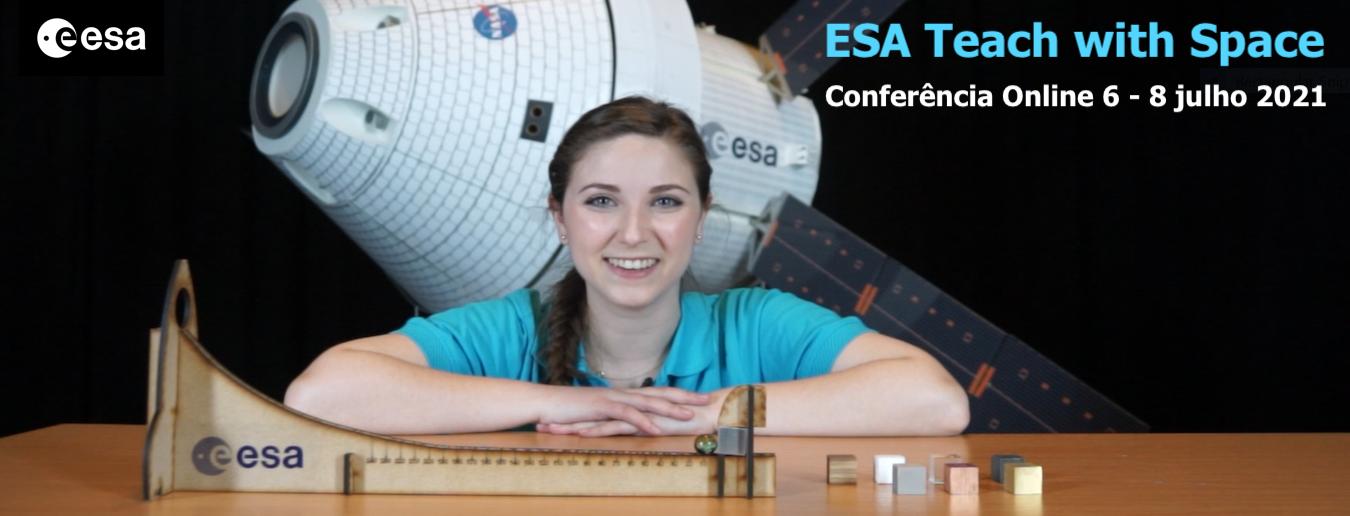 Conferência online da ESA para Professores!