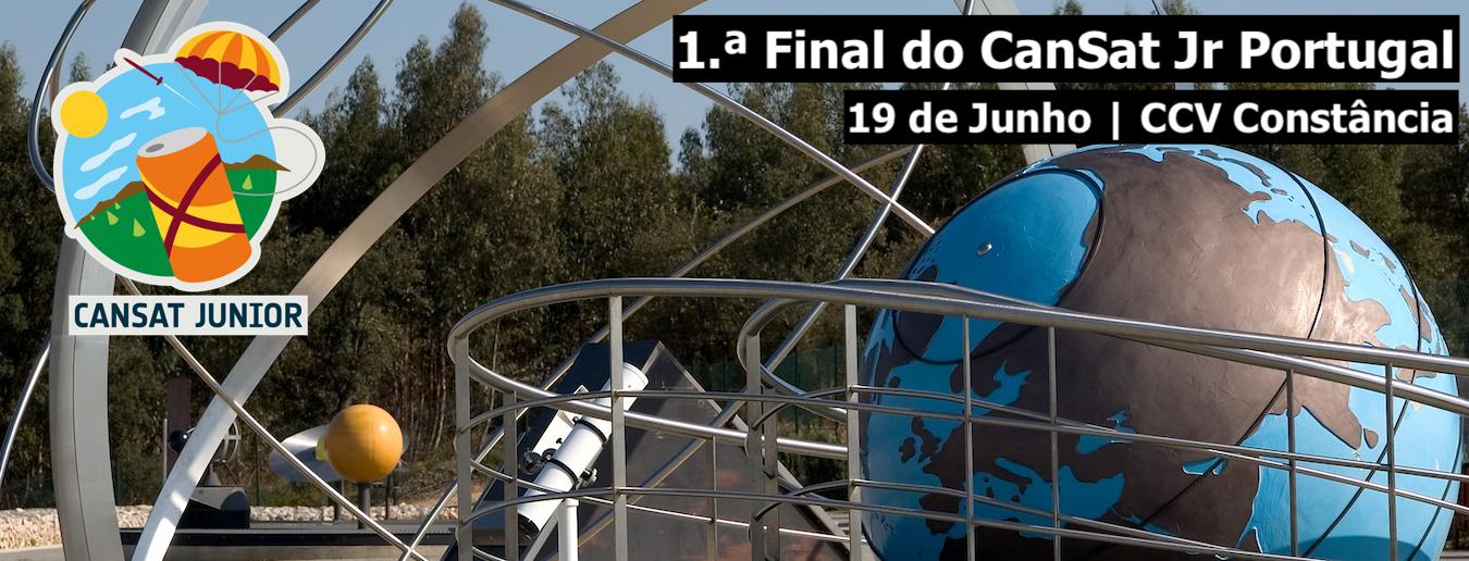 Final do CanSat Jr no dia 19 Junho