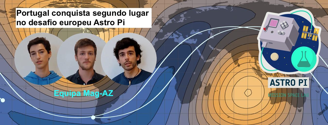 Alunos portugueses no 2.º lugar do Astro Pi!
