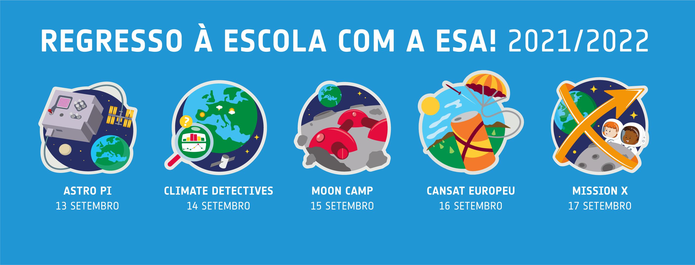 Projetos escolares da ESA para 2021/2022!