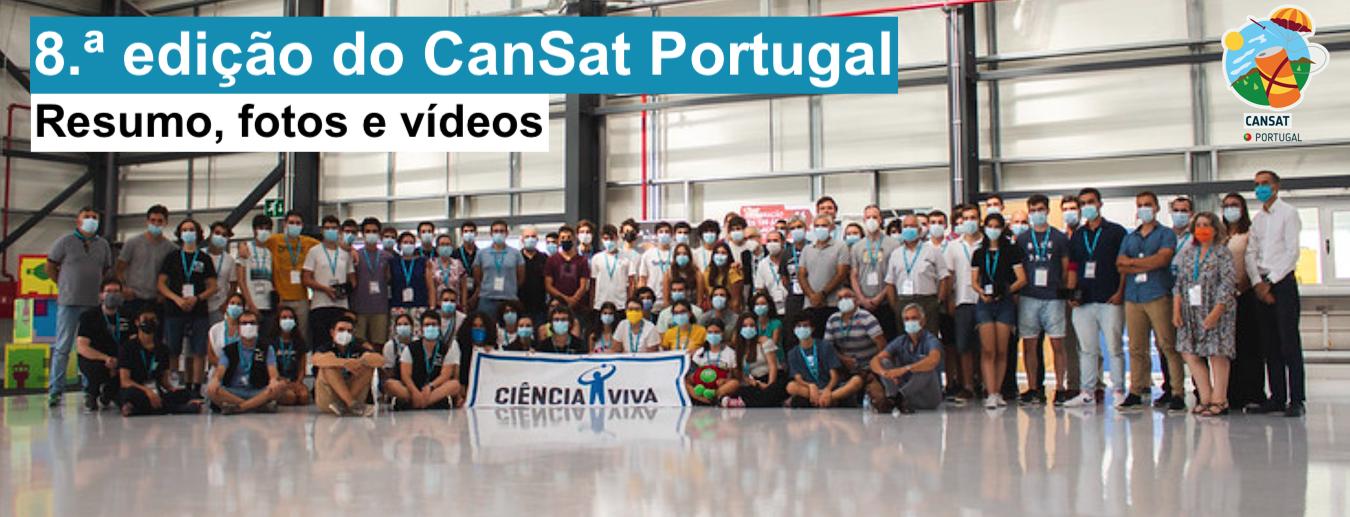 Reveja a Final da 8.ª ed. do CanSat Portugal