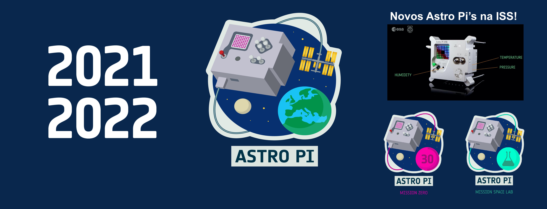 Astro Pi 2021/2022: Inscrições abertas!