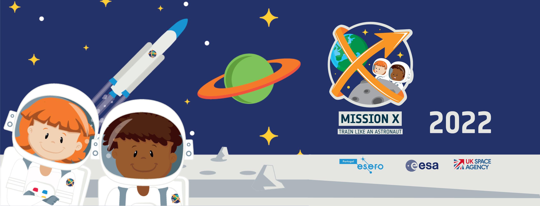 Missão X 2022 - Treina como um Astronauta!